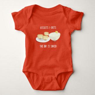 Kekse und Baby-Bodysuit der Korn-  Baby Strampler