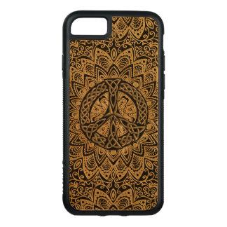 Keltische Friedenszeichen-Mandala Carved iPhone 8/7 Hülle