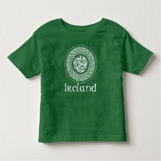 Keltische Knüpfarbeit-irisches Medaillon-Muster im Kleinkind T-shirt