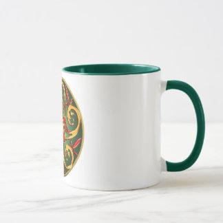 Keltische Pentagramm-Spirale Tasse