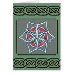keltische Schneeflocke der Karte durch talkingfox