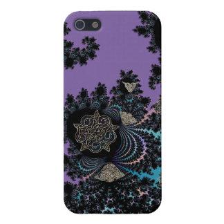 Keltische symbolische MetallFraktal-Collage iPhone 5 Cover