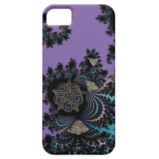 Keltische symbolische MetallFraktal-Collage iPhone 5 Etuis