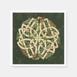 Keltische Verzierung Papierservietten