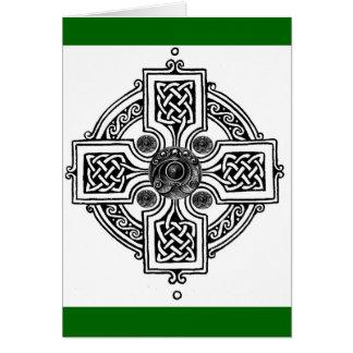Keltischer Entwurf Karte