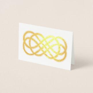 Keltischer immer währender Knoten - löschen Sie Folienkarte