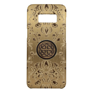 Keltischer Knoten auf metallischem Kasten der Case-Mate Samsung Galaxy S8 Hülle