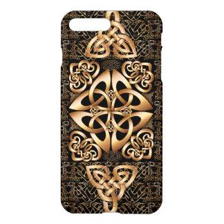 Keltischer Knoten auf Schwarzem iPhone 7 Plus Hülle