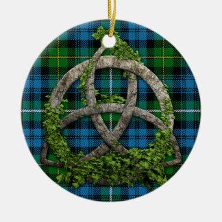 Keltischer Knoten und Clan Campbell von Argyll Keramik Ornament