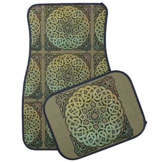 Keltischer KnüpfarbeitMandala Automatte
