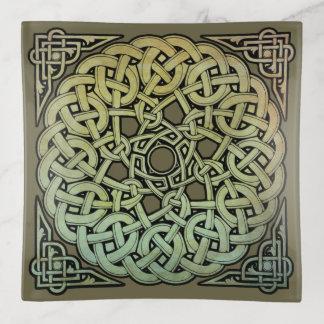 Keltischer KnüpfarbeitMandala Dekoschale