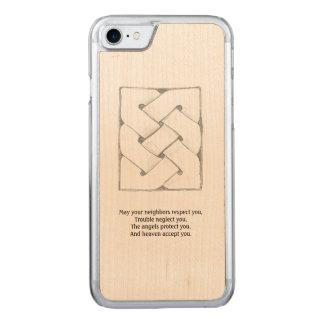 Keltischer Segen Carved iPhone 8/7 Hülle