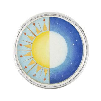 Keltisches Äquinoktikum-Revers-Button Anstecknadel