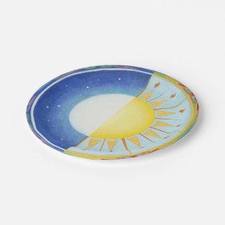 Keltisches Äquinoktikum Sun und Mond-PapierTeller Pappteller 17,8 Cm