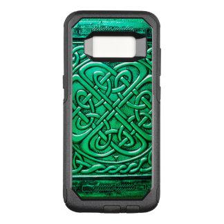 Keltisches Grün 2 des Entwurfs-(1) OtterBox Commuter Samsung Galaxy S8 Hülle
