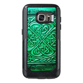 Keltisches Grün 2 des Entwurfs-(1) OtterBox Samsung Galaxy S7 Hülle