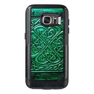 Keltisches Grün des Entwurfs-(1) OtterBox Samsung Galaxy S7 Hülle