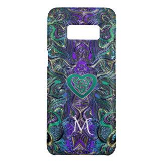 Keltisches Herz-PastellMandala-Monogramm Case-Mate Samsung Galaxy S8 Hülle