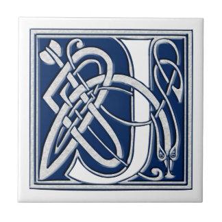 Keltisches J-Monogramm Keramikfliese