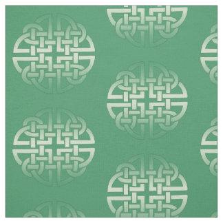 Keltisches Knoten-Muster auf editable Stoff