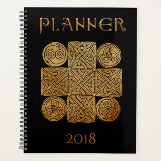 Keltisches Knüpfarbeit-Kreuz Planer