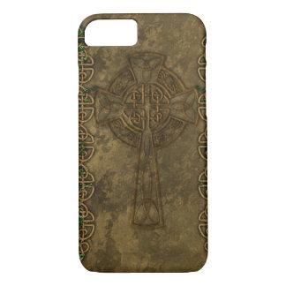 Keltisches Kreuz und keltische Knoten iPhone 8/7 Hülle