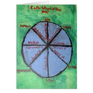 Keltisches Rad Karte
