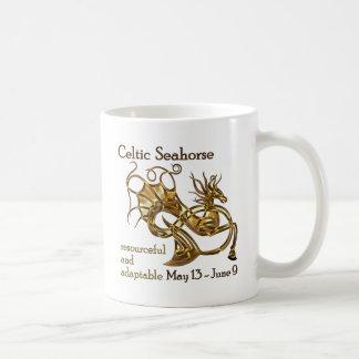 Keltisches Seepferd Kaffeetasse