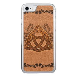 Keltisches Zeichen mit Rosen Carved iPhone 8/7 Hülle