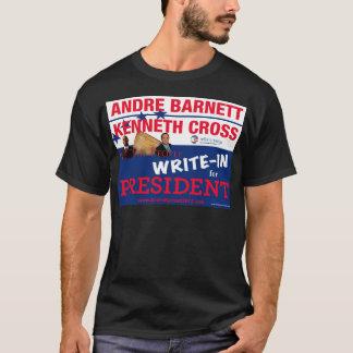 Ken-Kreuz und Andre Barnett an zweiter Stelle T-Shirt