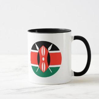 Kenia-Flagge Tasse