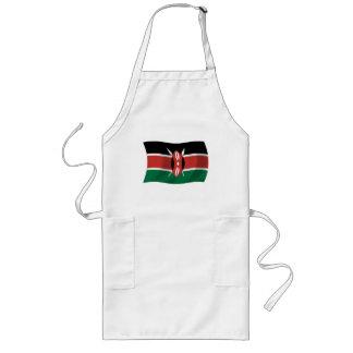 Kenia-Flaggen-Schürze Lange Schürze