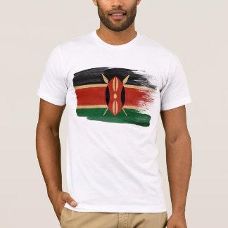 Kenia-Flaggen-T - Shirt