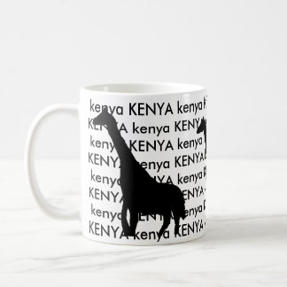 Kenia-Giraffe Kaffeetasse