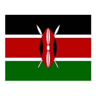 Kenia Postkarte