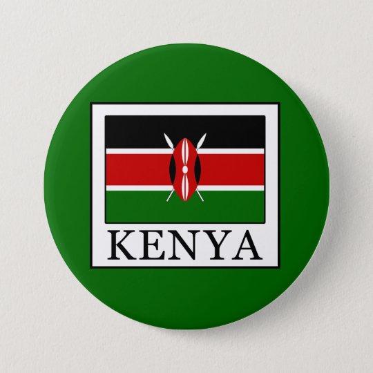 Kenia Runder Button 7,6 Cm