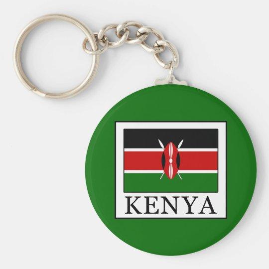 Kenia Standard Runder Schlüsselanhänger