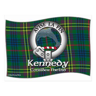 Kennedy-Clan Postkarte