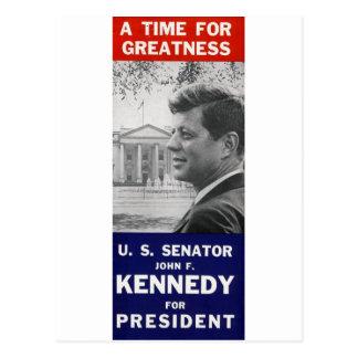 Kennedy - eine Zeit für Größe Postkarte