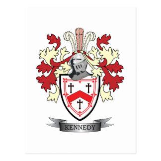 Kennedy-Familienwappen-Wappen Postkarte