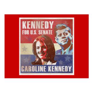 Kennedy fängt Kampagne für Senat an Postkarte