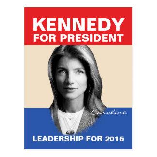Kennedy-Führung Postkarte
