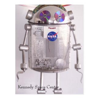 Kennedy Space Center Postkarte