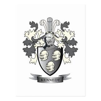 Kennedy-Wappen Postkarte