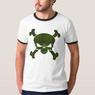 Kennedytartan-Schädel keine Fahne T-Shirt