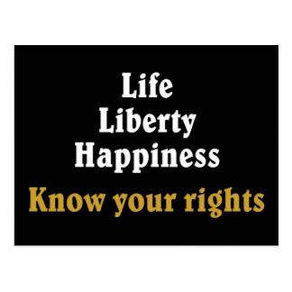 Kennen Sie Ihre Rechte 2 Postkarten