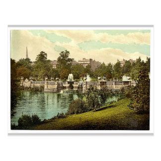 Kensington arbeitet, die Brunnen, London, England Postkarte