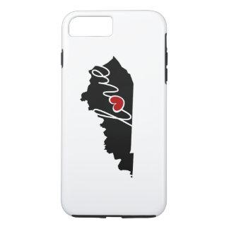 Kentucky-Liebe! Geschenke für KY-Liebhaber iPhone 8 Plus/7 Plus Hülle