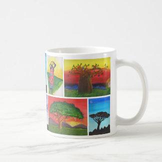 Kenyan scherzt Kunst-Tasse Kaffeetasse