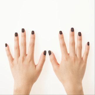 Kenyanname und -flagge minx nagelkunst